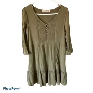 Abercrombie & Fitch Small Green Dress